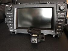 2010-2011Toyota Prius CD Receiver Radio Navigator GPS JBL OEM With Backup Camera