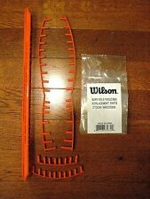 Wilson Burn 100 LS & 100 ULS Tennis Racquet Headguard &Grommets Kit  -WRG725500