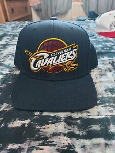 Mitchell & Ness   Blue Snapback Cap   Cleveland Cavaliers