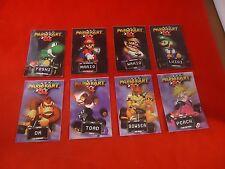 Mario Kart 64 Nintendo 64 N64 8 Trading Cards Luigi Princess Yoshi Donkey Kong