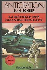 D.A.S. La Révolte des grands cerveaux.K-H SCHEER.Anticipation 1081  SF51