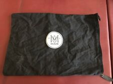 """Mahi Leather Item Dust Bag - Just The Dust Cover! 14"""" By 11"""" Black"""
