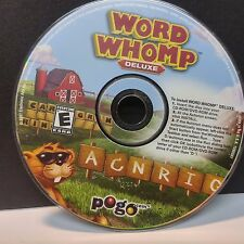 WORD WHOMP (PC) DISC ONLY WITH NO CODE # 8385
