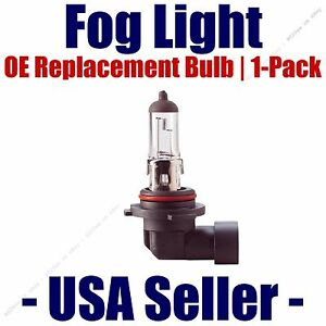Fog Light Bulb Upgrade 1-Pack fits Listed Kia Vehicles - 9006 SWTX