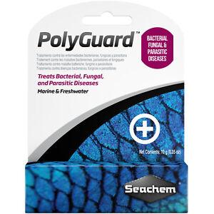 Seachem PolyGuard 5g Treats Bacterial Fungal & Parasitic Aquarium Fish Diseases