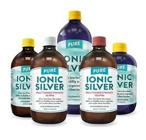 Colloidal/Ionic Silver .....100% Pure............. 100% Money Back Guaranteed