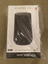 Harmon Kardon Citation 100 Bluetooth Speaker & Google Assistant  - Black - NEW