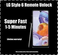 Network Unlock Service LG Stylo 6 T-Mobile ATT Metro Cricket Sprint Boost - Fast
