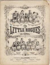 Gracie's Waltz from Ten Little Rogues by Ch. Kinkel  1872
