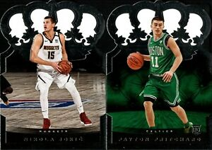 2020-21 PANINI CROWN ROYALE DIE-CUT BASE w/ RC SP SINGLES - YOU PICK FOR SET