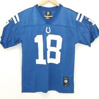 Indianapolis Colts Payton Manning 18 Team Jersey NFL Equipment Football YTH LRGE