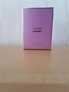 Chance by Chanel Eau De Parfum Spray with box 35ml has been used