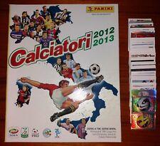 n. 150 FIGURINE CALCIATORI 2012-2013 TUTTE DIVERSE + ALBUM VUOTO (VERS.OMAGGIO)