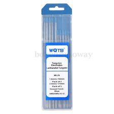 2% Lanthanated WL20 TIG Welding Tungsten Electrode 1.6mmx150mm +2.4mmx175mm New