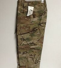 US ARMY ISSUE MULTICAM COMBAT TROUSERS FLAME RESISTANT  NWT LARGE SHORT