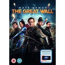 The Great Wall DVD R2 PAL Matt Damon Digital Download MINT