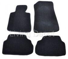 For 08-13 BMW E82 E88 1 Series Floor Mats Carpet Front & Rear Nylon Black 4PC