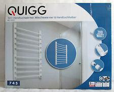 Handtuchwärmer, Wäschewärmer & Handtuchhalter, Heizung Quigg 3 in 1