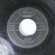 Hear! Rockabilly 45 Curtis Gordon - Sixteen / Cry, Cry On Mercury