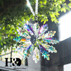 Crystal Colorful Large Snowflake Holiday Ornaments Collectibles Christmas Decor