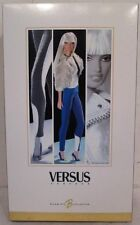 Versus Barbie Doll Designer Collection Gold Label MIMB Shipper