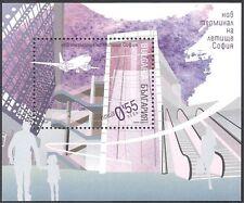 BULGARIA 2006 Aeroporto/Piano/Aeromobile/Aviazione/Edifici/architetcure M/S n17372
