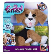 Fur Real Chatty Charlie the Barking Beagle Dog Toy