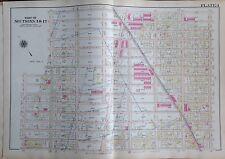 1907 MIDWOOD BOROUGH PARK BROOKLYN NY WASHINGTON CEM. AV K-FOSTER AV ATLAS MAP