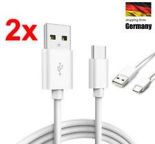 2x USB Typ C Ladekabel USB-C Datenkabel Sync Daten Lade Kabel Für Samsung