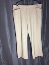 30b9cb7d535 Lane Bryant Kaki casual dress straight leg pocket pants plus size 28