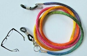 "Rainbow  Eye / sun Spectacles  lanyard 24"" (61cm)   Nylon Cord"