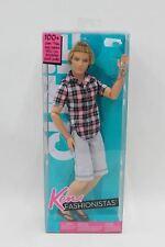 "MATTEL Barbie Ken Fashionistas Posable Fashion Man Doll 12"" T7417 w Box NEW"