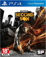 Infamous: Second Son Asia English+Chinese subtitle Version PS4 NEW
