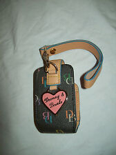 NEW DOONEY & BOURKE WRISTLET IT BAG PHONE CASE MP3/I POD CASE HOLDER