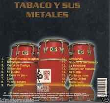 rare cd  TABACO Y SUS METALES arroyando SEXTETO JUVENTUD sinceridad NOSTALGIA