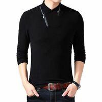 Camisa de hombre Camisas de manga larga Nuevo estilo Ropa para hombres Camiseta
