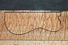 """AWESOME QUILTED MAPLE 22 5/8"""" X 10 1/8"""" X 2 1/4"""": GUITAR, LUTHIER, CRAFT, SCALES"""