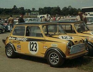 Britax Cooper Seat Belts - Classic Mini S BMC Austin Morris Downton Harness