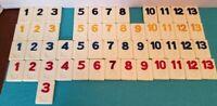Rummikub by Pressman Replacement Game Tiles (Price Per Tile) You Pick