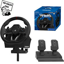 PlayStation 4 3 Steering Wheel And Pedal Set Racing Gaming Simulator Driving PC