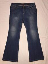 16 Juniors JRS. Plus Arizona Denim Jeans Bootcut Boot Cut Blue Stretch New