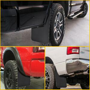 Universal Plastic Wearing Mud Flaps Splash Guards For Car Front&Rear Fender 4PCS