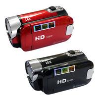 16MP Red Digital Camera 1080p HD Video 16X Optical Zoom 2.7'' LCD Camera New