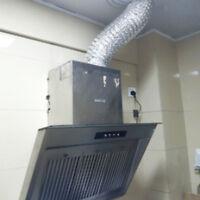Flexible Air Aluminum Ducting Kitchen Ventilation Tube Exhaust Pipe10cm-2m