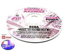 REBEL ASSAULT SEGA MEGA CD DRIVE RARE PAL DEMO GAME SUIT COLLECTOR GENESIS NOMAD