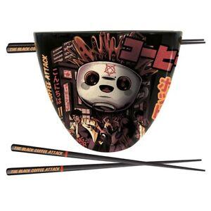 Ilustrata The Black Coffee Attack Ramen Bowl Set Geschenkset