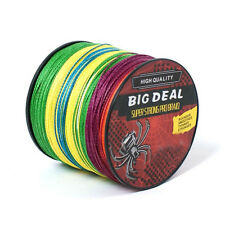 100M Super Strong Dyneema Spectra Extreme PE Braided Sea Fishing Line 10-100LB