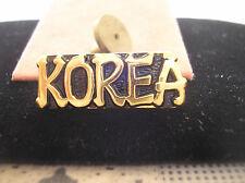KOREAN WAR VETERAN HAT PIN - KOREA