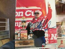 Jeff Gordon  DuPont Replica 8 x 10 Autographed Photo