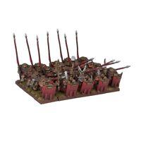 Kings of War Dwarf Bulwarkers Regiment (Mantic figures KWD27-1) free post